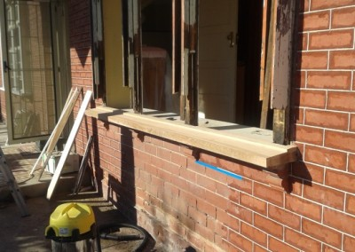 Window sill repairs