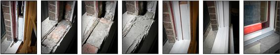 Replace window sills