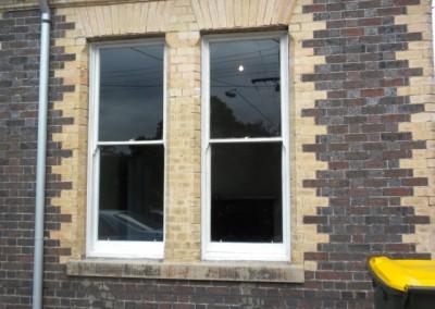 Noise reduction upgrade and sash restoration