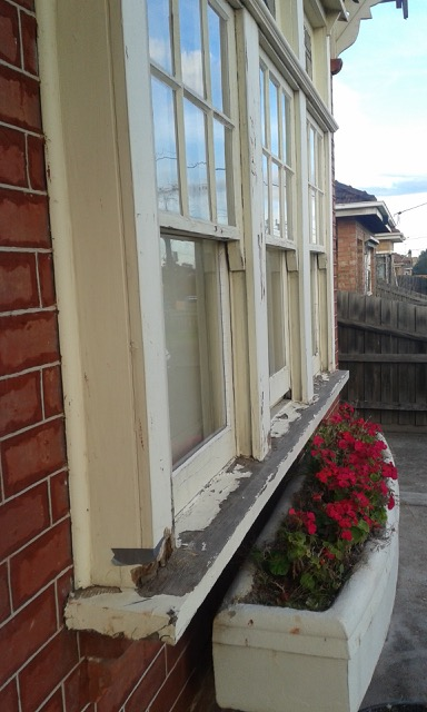 Triple Double Hung Windows : Photos before and after restoration of period
